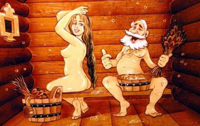 русское порно в бане в контакте фото